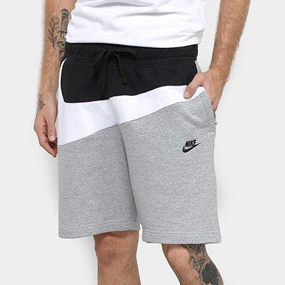 Bermuda Nike Detalhe Bordado HBR SHORT FT Masculino