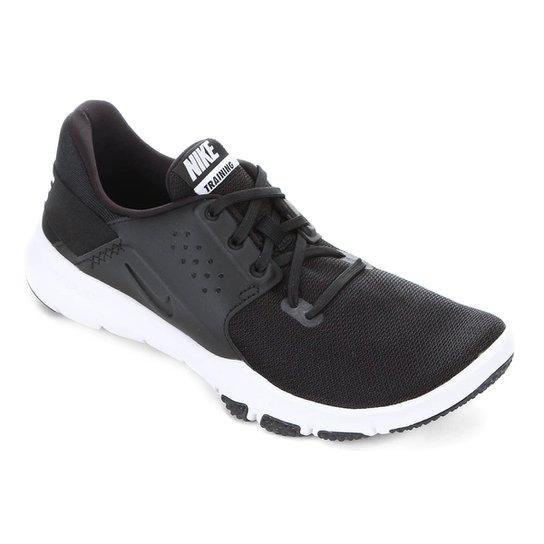fecde4000ea Tênis Nike Flex Control Tr3 Masculino - Preto e Branco - Compre ...