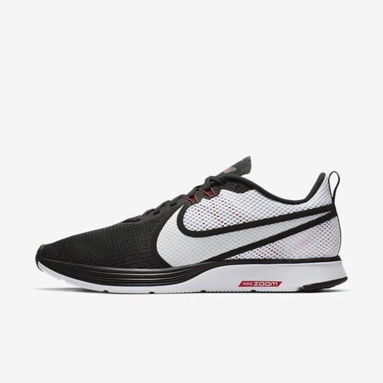 0375c3f1668 Tênis Nike Zoom Strike 2 Masculino - Preto e Branco - Compre Agora ...