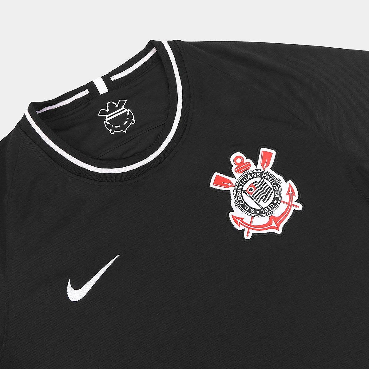Camisa Corinthians II 19/20 s/nº Torcedor Nike Masculina - Tam: P - 3