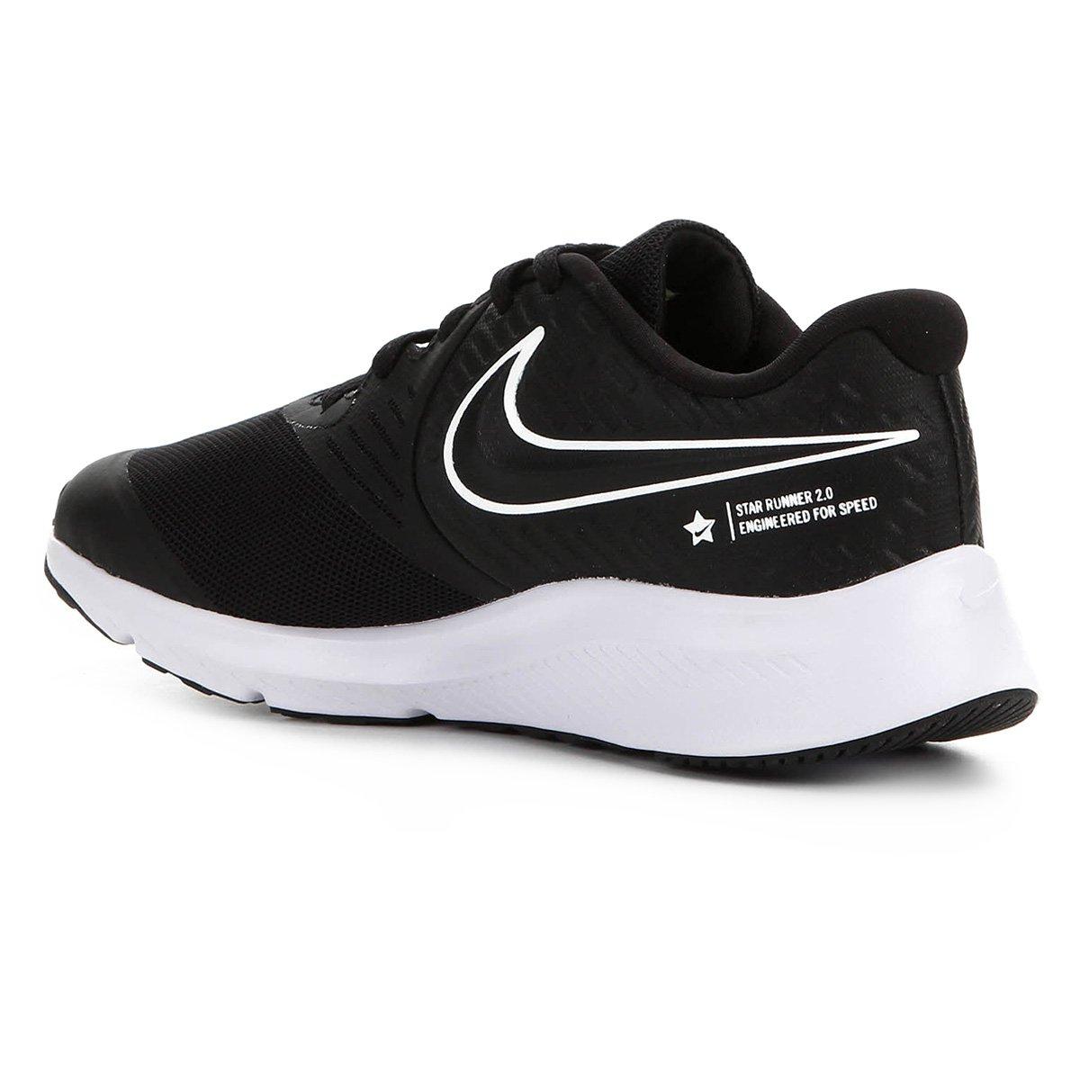 Tênis Infantil Nike Star Runner 2 GS Masculino - Tam: 35 - 1