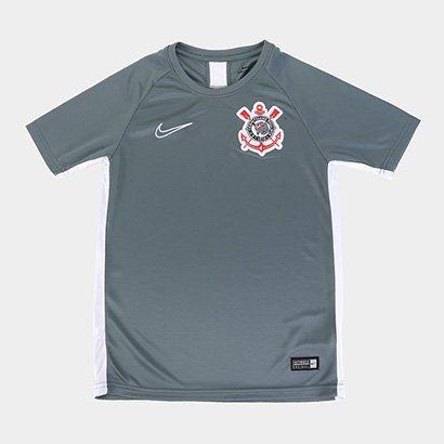 Camisa Corinthians Infantil Treino 19/20 Nike