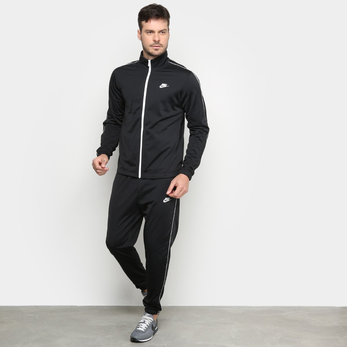 Agasalho Nike M Nsw Ce Trk Suit Pk Basic Masculino - Tam: M