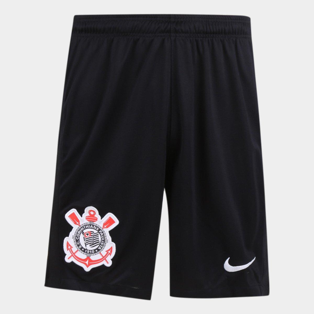 Calção Corinthians I 20/21 Nike Masculino