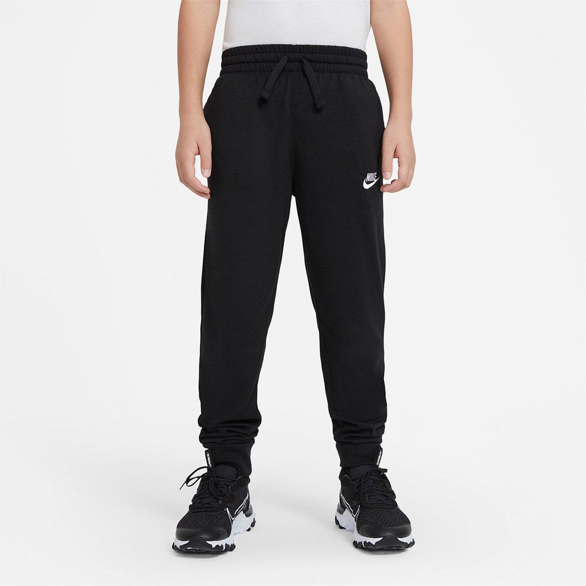 Calça Jogger Infantil Nike Jersey Masculina
