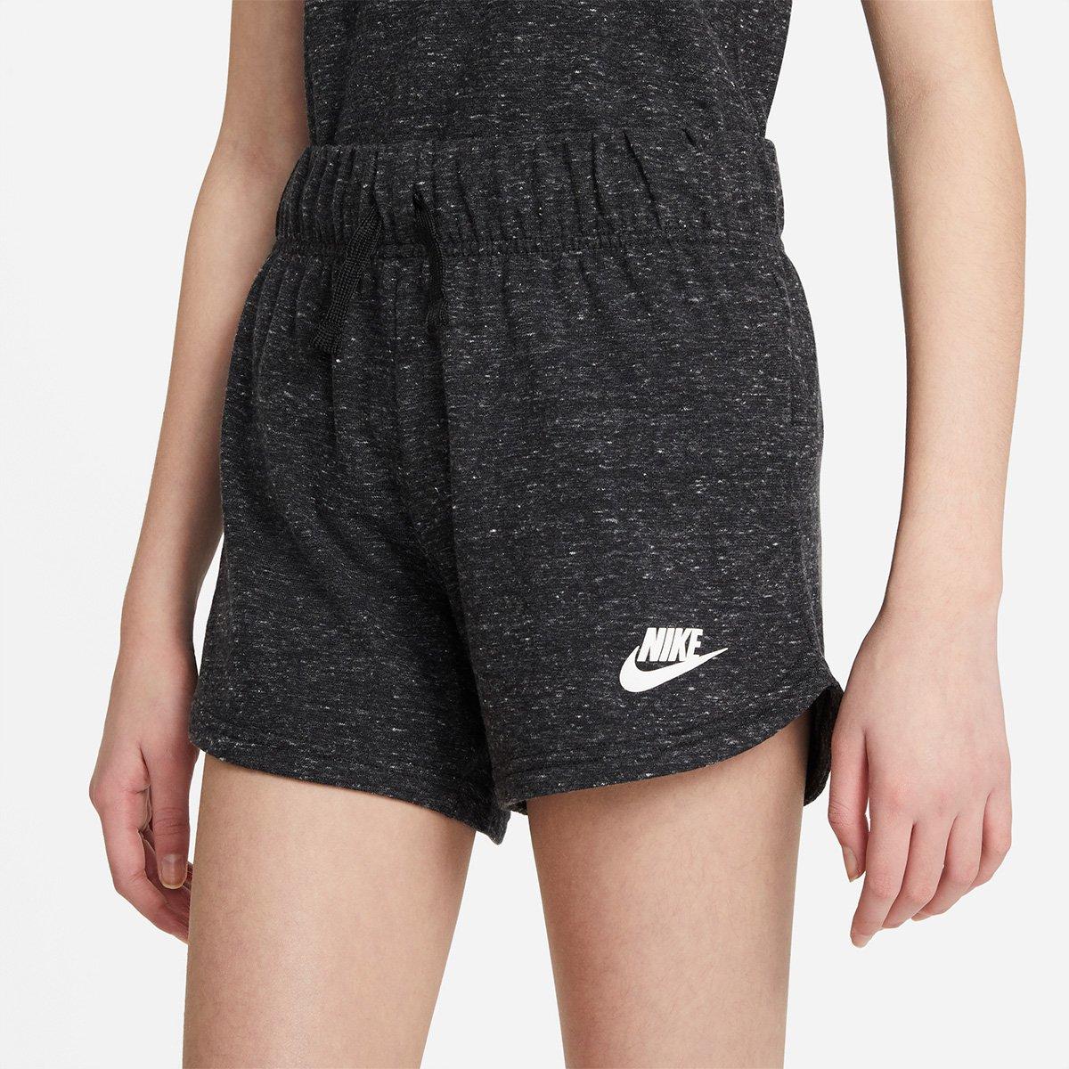 Shorts Infantil Nike NSW 4In Jersey Feminino