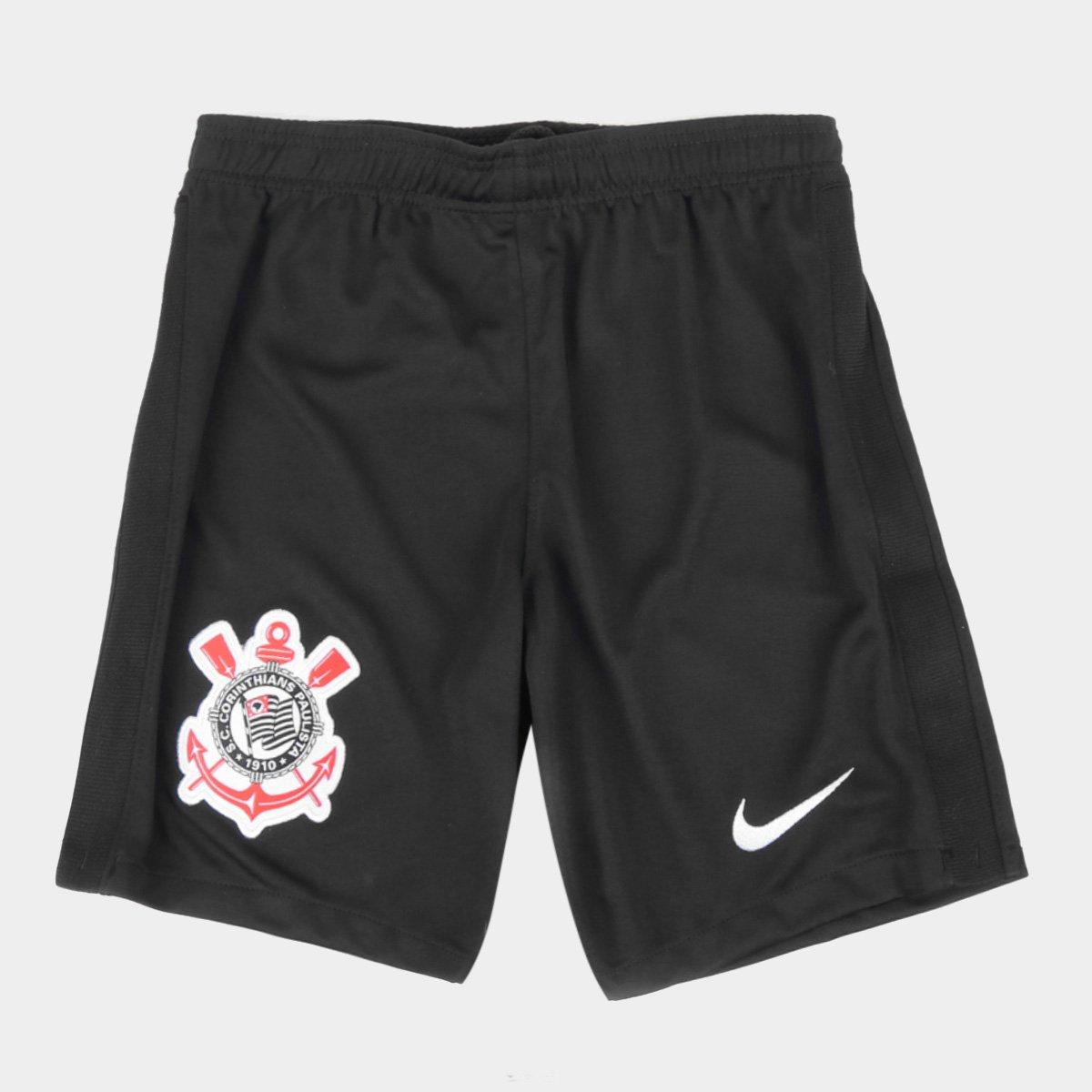 Calção Corinthians Juvenil I 21/22 Nike