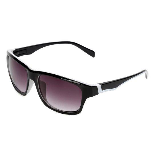Óculos De Sol Moto Gp Pro Gala 46 Polarizado Masculino - Preto+Branco 34b2cb101a