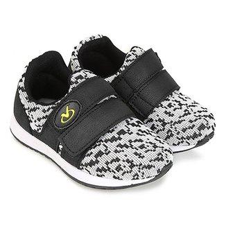 800ecef5bb Tênis Infantil Via Vip Baby Velcro Masculino