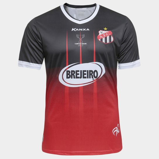 3ce0c2b74 Camisa Anápolis II 2017 nº 10 - Torcedor Kanxa Masculina - Preto+Vermelho