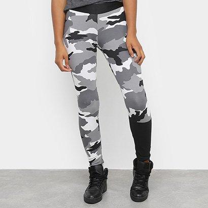 Calça Legging Adidas Aop Camuflada Feminina