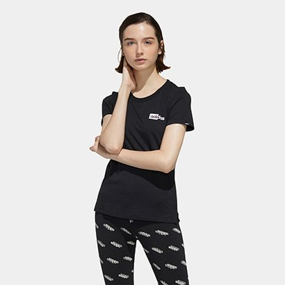Camiseta Adidas Read Slim Feminina