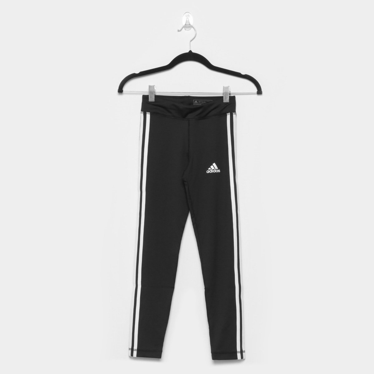 Calça Legging Infantil Adidas 3 Stripes
