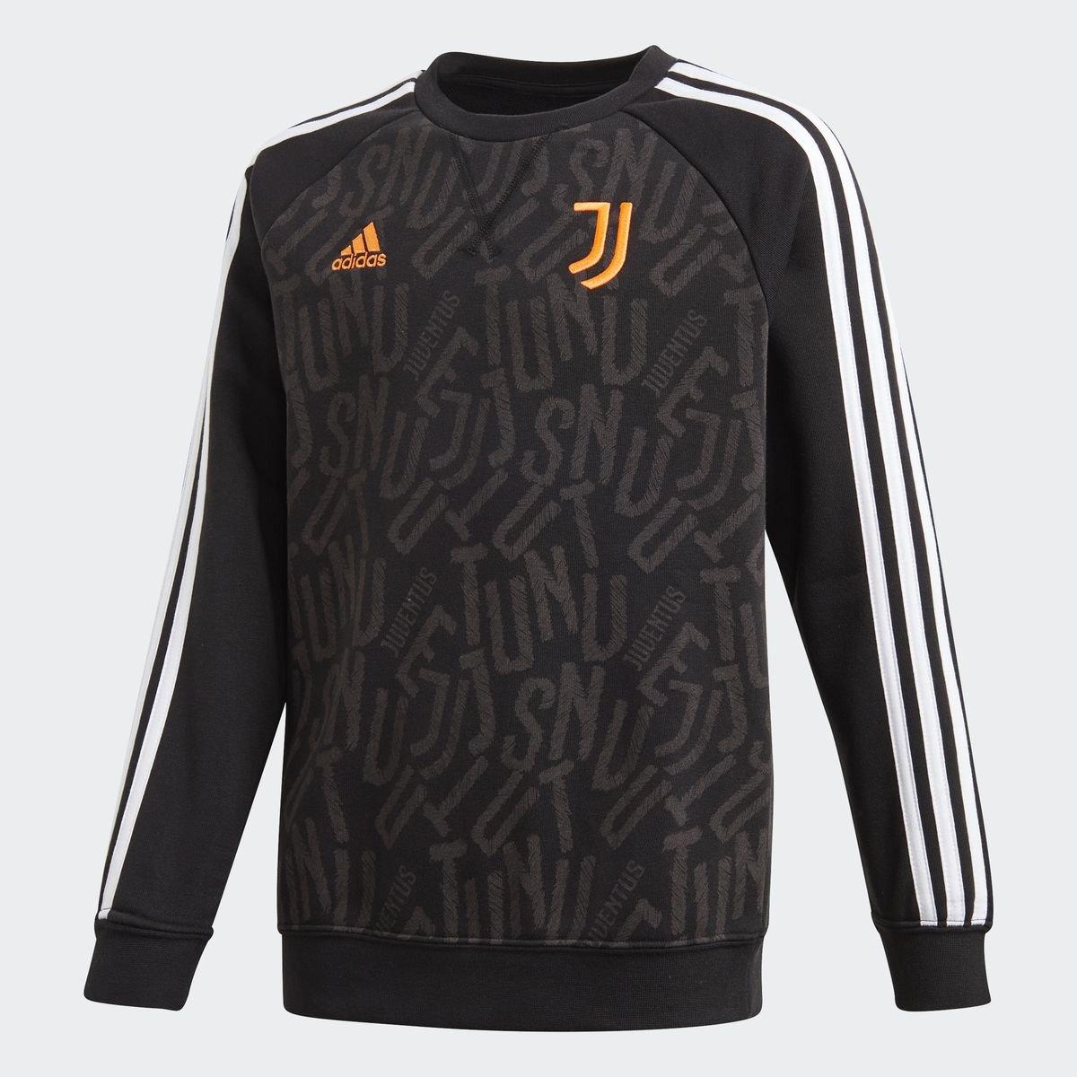Moletom Juvenil Juventus Adidas Crew Sweat Adidas