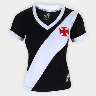 Camiseta Vasco Da Gama Retro Mania 1948 Feminina 8f2310bcd4072