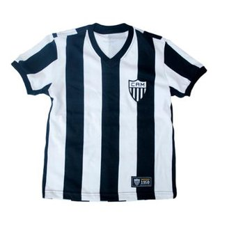 db17561bd12f6 Camisa Retrô Mania Juvenil Atlético Mineiro 1950 Masculina