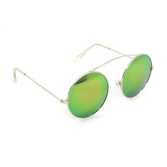 Óculos Bijoulux de Sol Redondo Espelhado - Compre Agora   Netshoes f4270edfd3