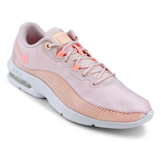 6b715c8a108 Tênis Nike Air Max Advantage 2 Feminino - Rosa e Vermelho - Compre ...