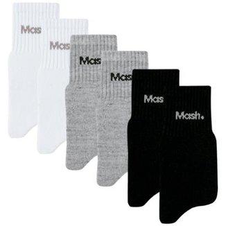b4c2a4a8f7cc34 Meias Mash Masculinas - Melhores Preços | Netshoes