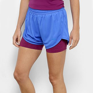 Short Fila Double Training Feminino