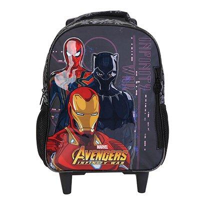 Mochila Infantil Escolar Xeryus Avengers First Strike Rodinhas