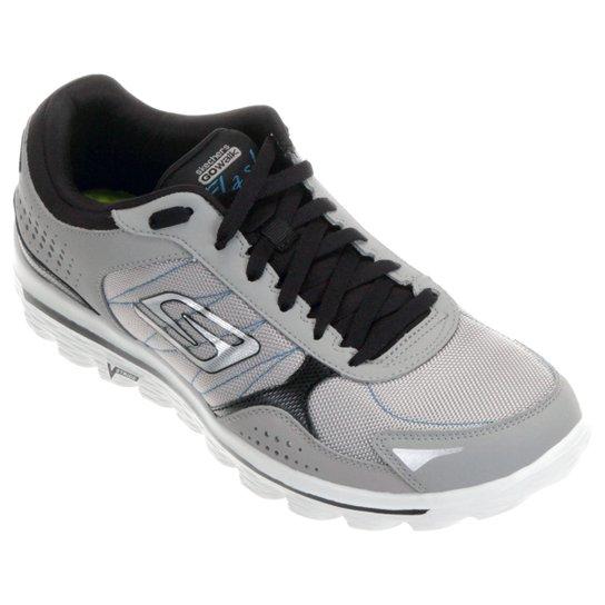 64fd5292026 Tênis Skechers GO Walk 2 Flash DNA Masculino - Compre Agora