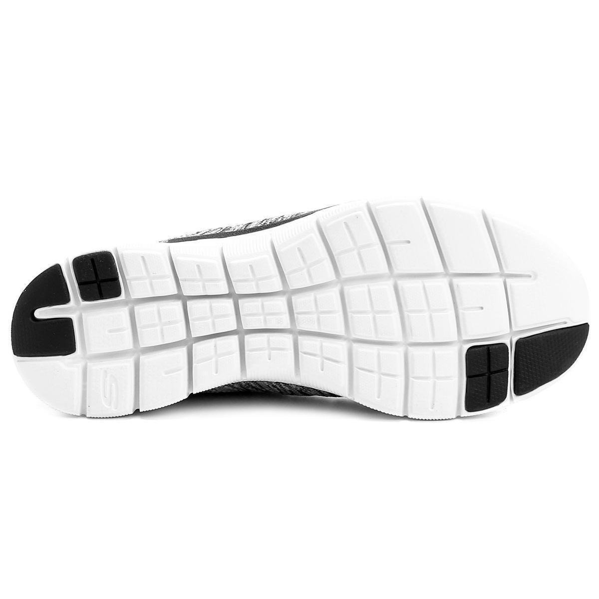 591836309 Tênis Skechers Flex Appeal 2.0 High Energy Feminino