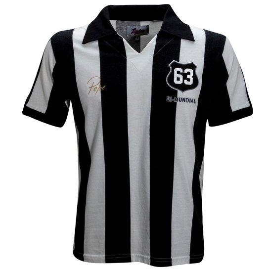 9b7e570cf4 Camisa Liga Retrô Pepe 1963 - Branco e Preto - Compre Agora