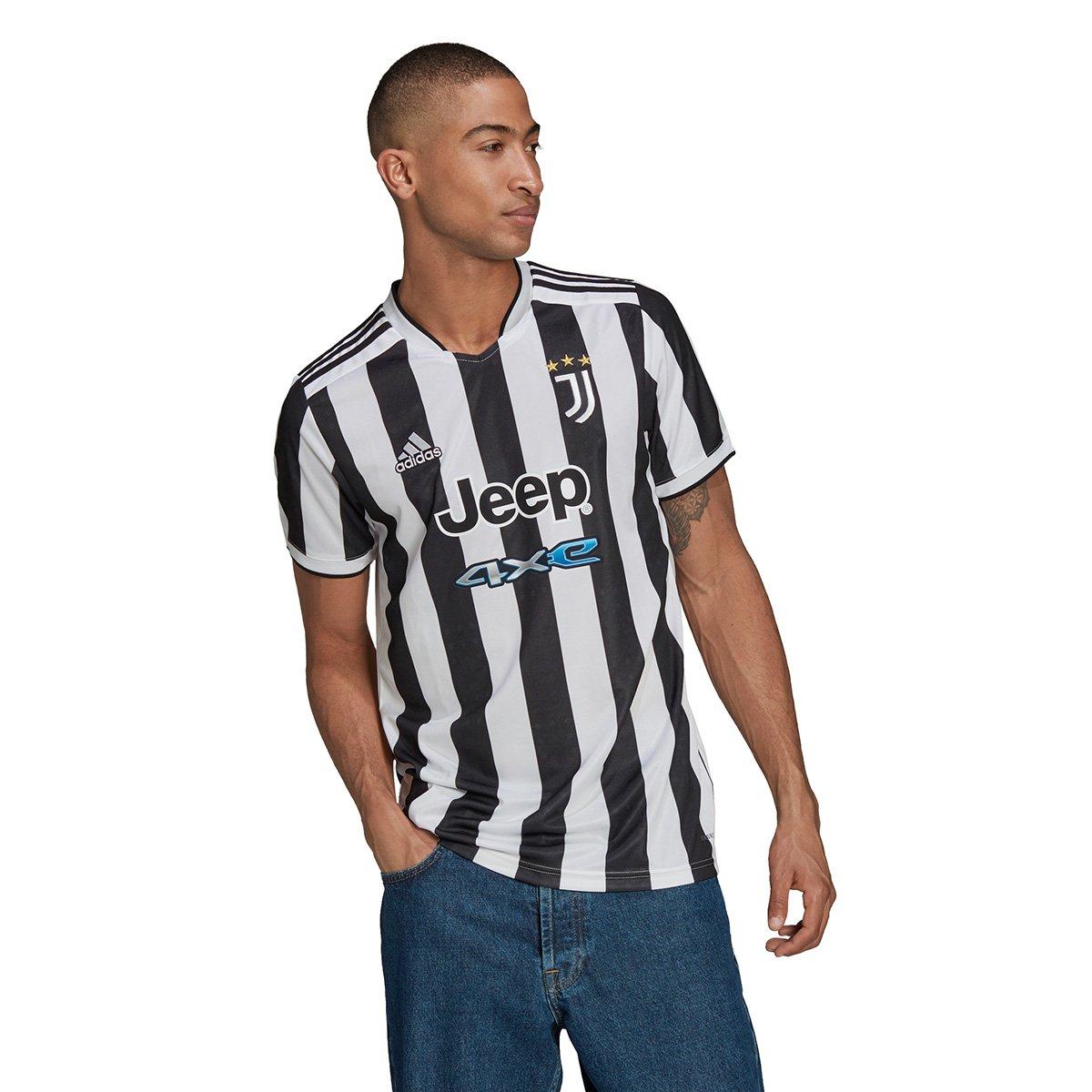 Camisa Juventus Home 21/22 s/n° Torcedor Adidas Masculina