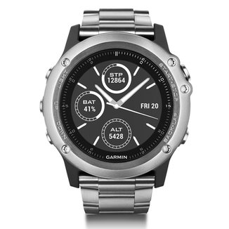4b66dd70f87 Relógio Garmin Fênix Safira 3 Performer Bundle c  GPS