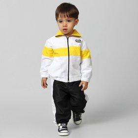 083ea830d9 Agasalho Santos Plush c  Capuz Infantil - Compre Agora
