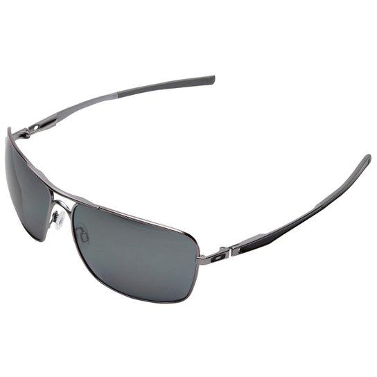 1190048b9 Óculos Oakley Plaintiff Squared - Iridium Polarizado - Cinza+Preto