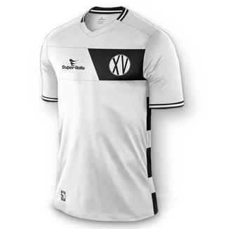Camisa Oficial Xv De Piracicaba Modelo Ii Super Bolla 80f64db8ba28a