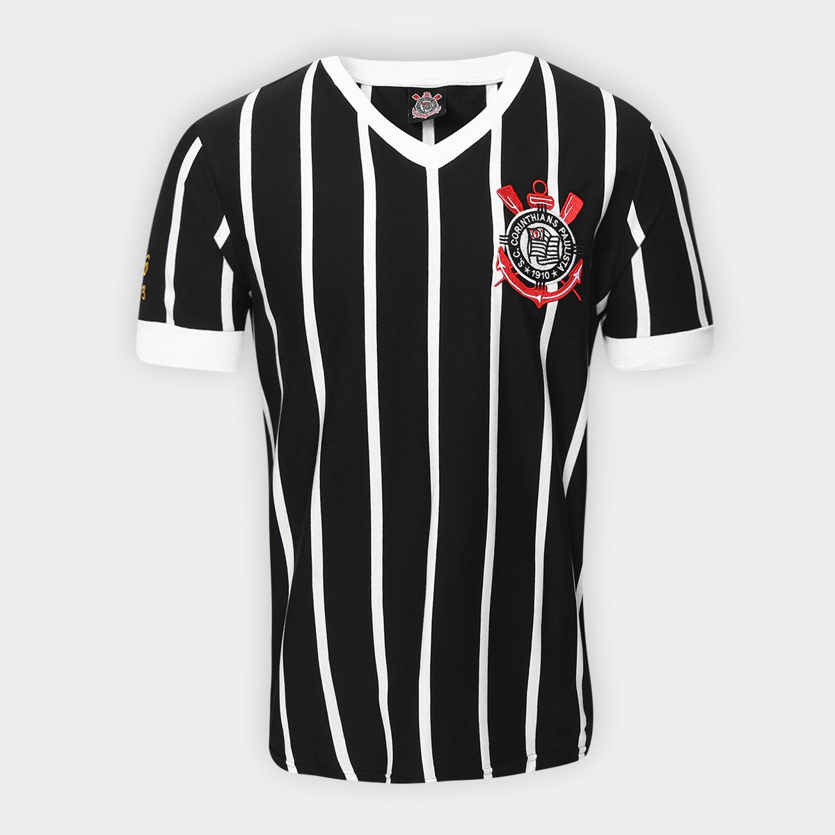 Camiseta Corinthians Réplica 1983 Masculina abe10ca280ffd