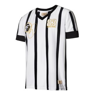 66a9653ce4 Camisa Masculina Retrô Gol Réplica Sócrates Ex - Corinthians 1983 Away
