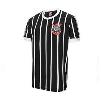 6dc6b4159 Camisa Retrô Corinthians Democracia Réplica 1982 Masculina
