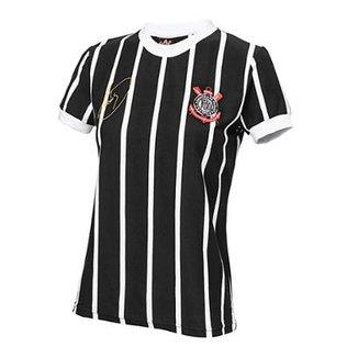 e708b6280ee36 Camisa Retrô Corinthians Democracia Réplica 1982 Feminina
