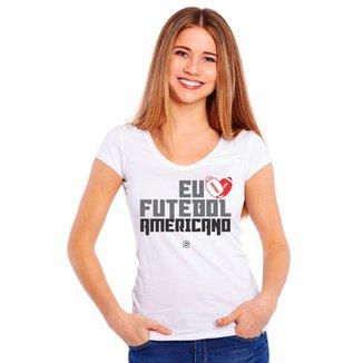 fcf01b086faa8 Camiseta Eu Six Points amo Futebol Americano