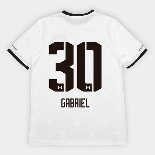 b8626463e8 Camisa Sport Recife II 2018 Nº 30 Gabriel - Torcedor Under Armour Masculina  - Branco+