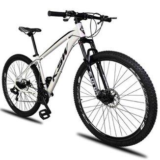 Bicicleta Aro 29 KSW XLT 21v Câmbios Shimano Freio a Disco Mecânico com  Suspensão 210509c0a89