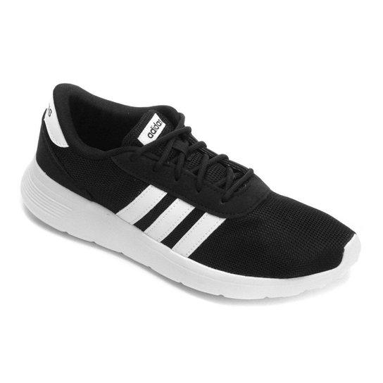 31242d634 Tênis Adidas Lite Racer W Feminino - Branco e Preto | Netshoes