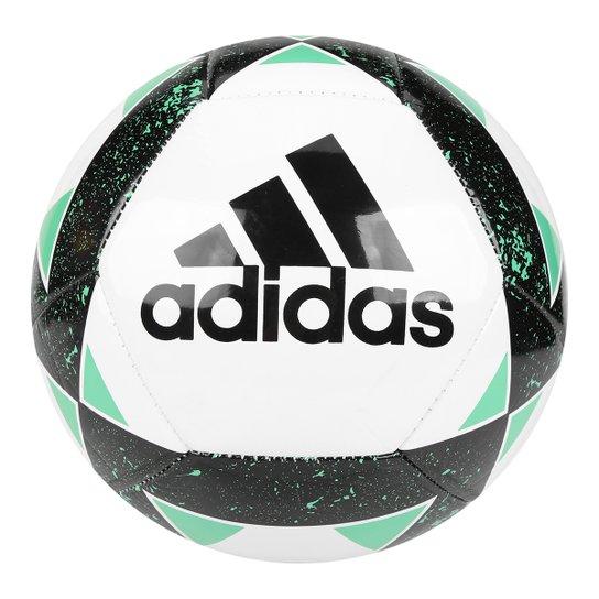 Bola Futebol Campo Adidas Starlancer V - Branco e Preto - Compre ... 56f2eb16f7576
