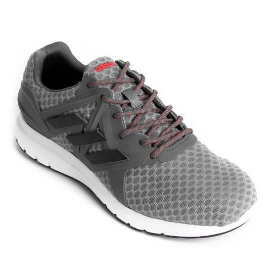 bc989d98feb1a Tênis Adidas Starlux Masculino - Cinza e Preto - Compre Agora
