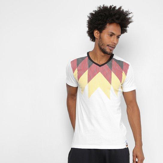 e332b644ef Camiseta Seleção Alemanha Adidas CI Masculina - Branco e Preto ...
