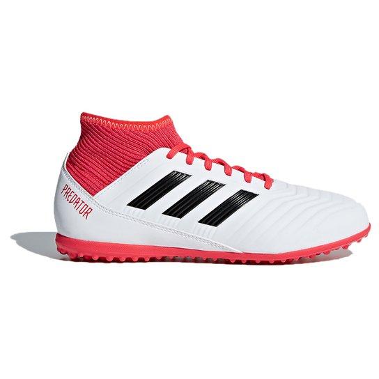 edea0bccf5 Chuteira Society Infantil Adidas Predator 18.3 TF - Branco e Preto ...
