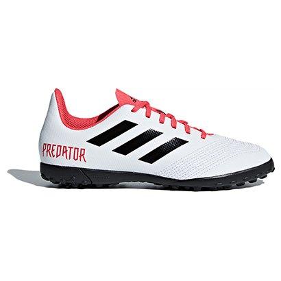 Chuteira Society Infantil Adidas Predator 18.4 TF