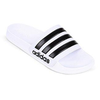 ecd3a10f542 Chinelo Slide Adidas Adilette Cloudfoam Masculino