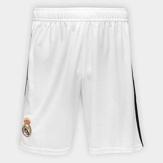 Calção Real Madrid Home 2018 Adidas Masculino 2d5528bd58e7e