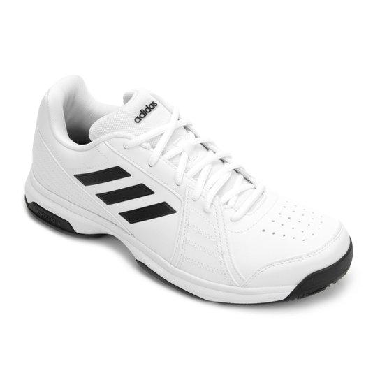 01fbda27514 Tênis Adidas Approach Masculino - Branco e Preto - Compre Agora ...