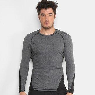 Camiseta Adidas Alphaskin Sport Manga Longa Masculina 2f63424bd8486